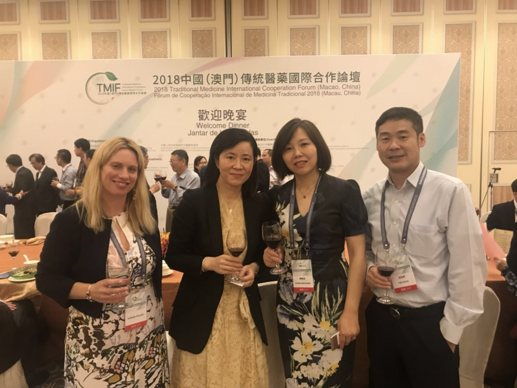 20/09/2018 le CIAMTC au TCM International Cooperation Forum Macao - China